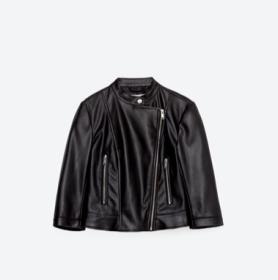 chaqueta manga francesa piel