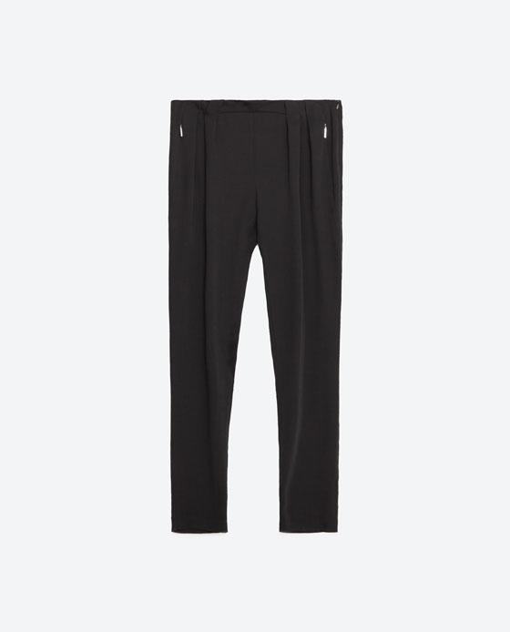 pantalon pliegues
